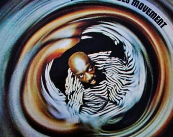 ISAAC HAYES Movement Vinyl Record Album Near Mint Vintage 1970 Gate Fold Classic Soul R & B Jazz Blaxploitation FREE Ship Shaft Black Power