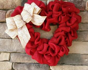 A little bit of Love Valentine's Day wreath