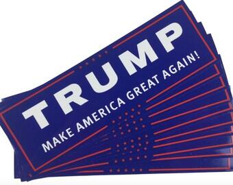 Trump Pence Bumper sticker for 2016