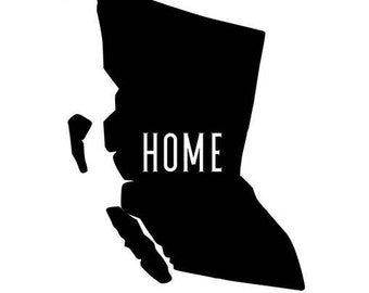 BC Home Vinyl Decal