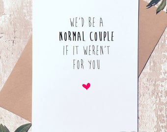 Funny anniversary card, birthday card boyfriend, valentines day card, Greeting Card, birthday card funny, birthday card girlfriend,