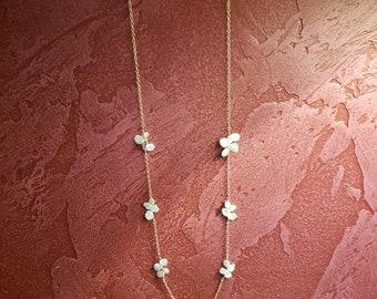 Keshi Pearl Necklace 14K Gold filled