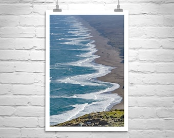 Point Reyes Photograph, Point Reyes Beach Picture, Pt Reyes Art, Marin County Art, California Coast Art, California Gift, Point Reyes Gift