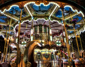 Paris Photography, Paris Art, Paris Prints,French Art, French Photo, Paris Carousel, Hotel deVille, Paris Photo, Print, Photo, France, Paris