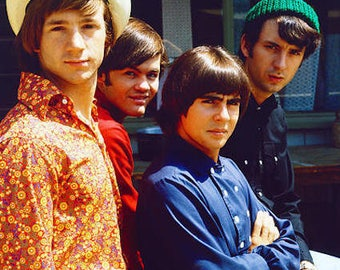 Classic 1960s The Monkees From TV Show  Color Photograph— More Celebrity Photos available Too