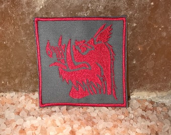 The Black Knight patch, Holy Grail, Monty Python, medieval patch, black knight crest, Life of Brian, gift under 10 gift for him gift for her