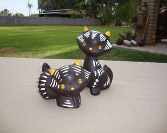 Napco Ceramics Salt and Pepper Kitty K2293