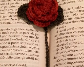 Bookmark Red rose