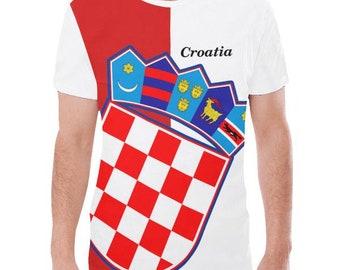 Croatia Men's Flag Tee