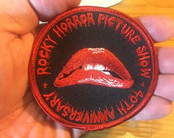 Rocky Horror Picture Show - 40th Anniversary Patch!