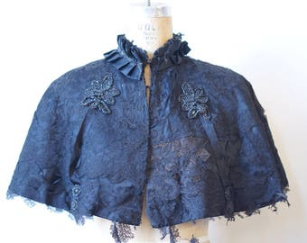 Victorian Gothic Cape- Costume/AS IS