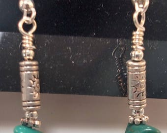 63-Turquoise Earrings