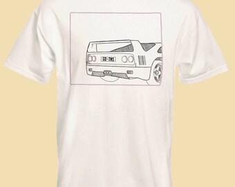 White Ferrari T-shirt Frank Ocean