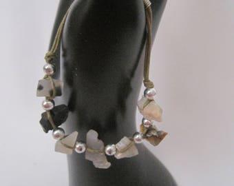 Handmade Beach Rock Bracelet
