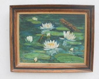 1968 Lyli Pond Painting By Eddy Schussel.