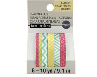 Warm & Bright Narrow Washi Tapes By Recollections™