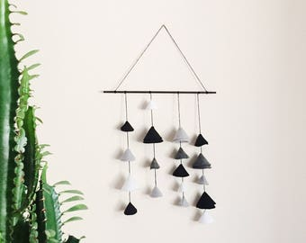 Monochromatic Bell Wall Hanging