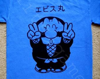 Mystical Ninja Ebisumaru T SHIRT (goemon's great adventure, anime, legend of the mystical ninja, ganbare goemon)