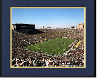 Notre Dame Stadium Photograph, Print, Picture - Fighting Irish