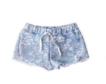 Aloha Floral Beach Shorts