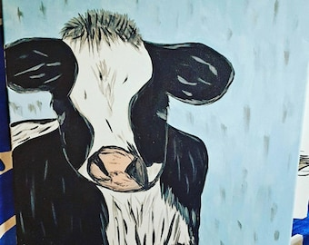 """Painting - """"Country Cow"""""""