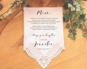 Mother of the Bride Handkerchief-Wedding Hankerchief-PRINTED-CUSTOMIZED-Wedding Hankies-Mother of the Bride Gift-LS11PadCop[1]