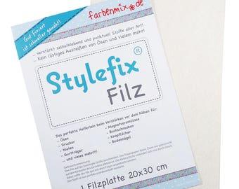 Stylefix-felt Farbenmix 20x 30 cm