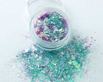 Mermaid Tears (CM62) Cosmetic Mixed Glitter - Festival Dance MUA Eye Shadow Face Body Nail Art Tattoo Clubbing