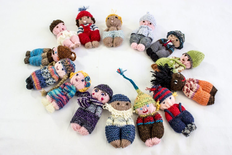 Easy Amigurumi Pdf : Knitting pattern doll toy pocket doll pdf amigurumi