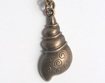 Bronze Sea Shell Necklace