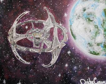 Deep Space Nine - Star Trek Prints. 16 x 20