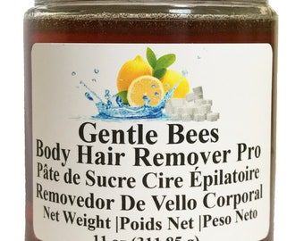 Gentle Bees Body Hair Remover Pro - Sugar Wax Kit