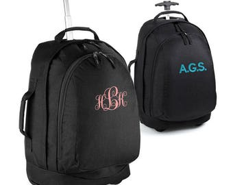Monogrammed Cabin / Hand Luggage Bag, Personalised Travel Gifts