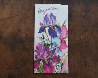 Vintage Congratulations Card - Never Used - Super Cute