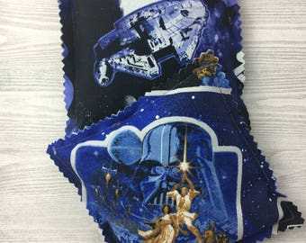 """Kozy Komfort """"Moscato"""" Style Rice Heating Pad, Hand Warmer, Ice and Hot Pack, Star Wars Pattern"""