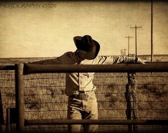 Cowboy Rustic Country Texas Fine Art Photograph Western Art-Southwest Home Decor