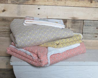 baby blanket/burp cloth