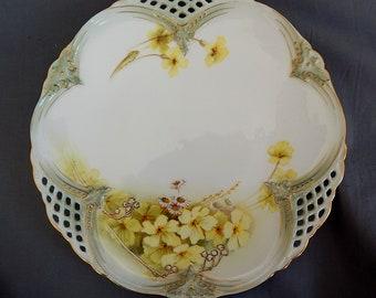 A Royal Worcester 'Shot Enamel' Plate