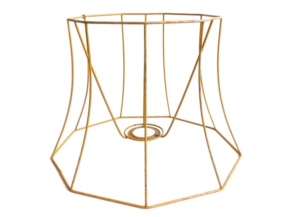 Wire lampshade frames wire center lampshade frame wire frame authentic vintage lampshade wire frame rh etsystudio com wire lampshade frames wholesale uk wire lampshade frames and how to make greentooth Gallery