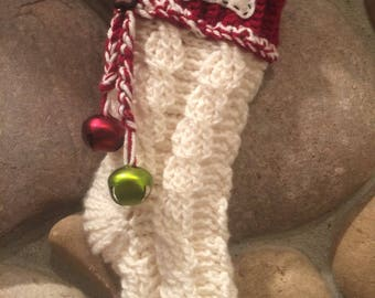 Crocheted Christmas Stocking (small)