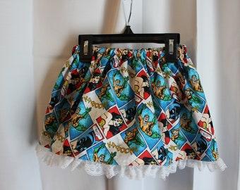 DC comic toddler girl skirt