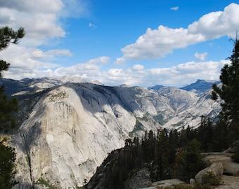 Yosemite Mountains Print, Landscape Photography, Wall Art