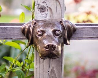 Labrador Retriever in Cement Bronze