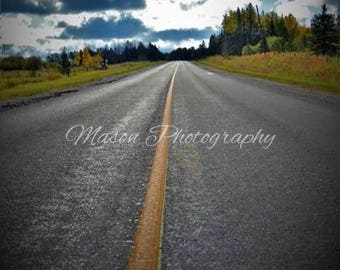 The Long Road limited edition printed on 8x10 canvas MasonphotographyCo