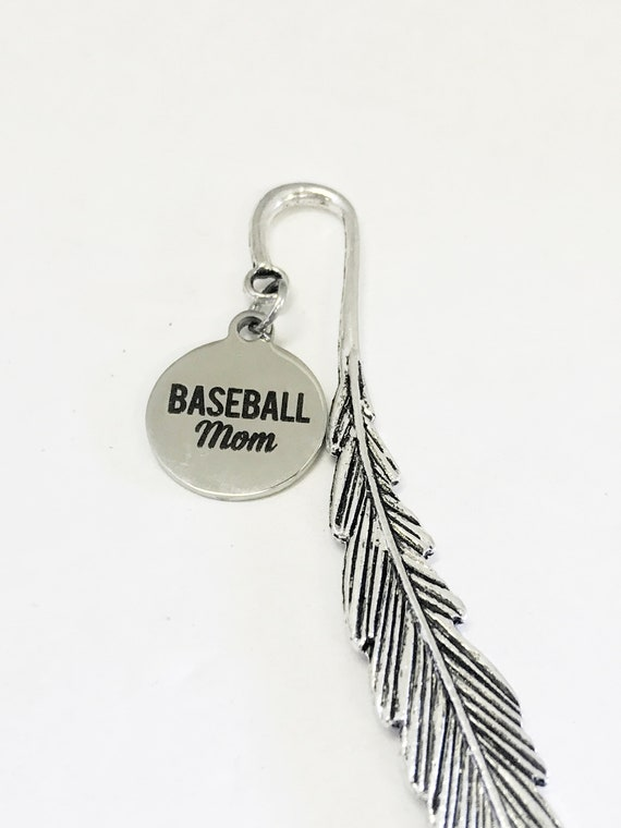 Baseball Mom Gifts, Baseball Mother's Day Gifts, Baseball Mom Bookmark, Baseball Mom Book Accessories, Planner Bookmark, Bookmark Gifts