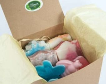 Family Big Gift box - Handmade soaps