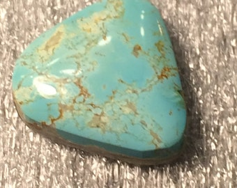 Tyrone Turquoise Blue Natural Gem High Grade Cabochon 10.8 CTS Free Shipping