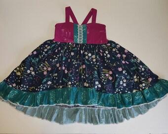 girls dresses, girls floral dresses, girls spring dresses, girls summer clothes, girls Summer dress, girls clothing