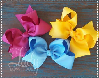 Cozy Town~ Hair-bow bundle-made match Matilda Jane~ A very merry make believe collection~ baby bows ~girls hair bows ~hair-bow bundle-bows~~
