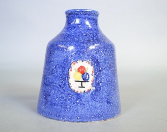 SALE! . Small vase designed by Guido Gambone for Bijenkorf Department store